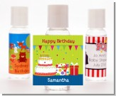 Birthday Cake - Personalized Birthday Party Hand Sanitizers Favors