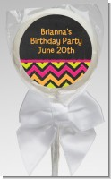 Birthday Girl Chalk Inspired - Personalized Birthday Party Lollipop Favors