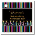 Birthday Wishes - Personalized Birthday Party Card Stock Favor Tags thumbnail