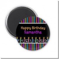 Birthday Wishes - Personalized Birthday Party Magnet Favors