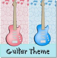 Guitar Birthday Party Theme