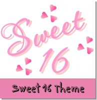 Sweet Sixteen Birthday Party Theme
