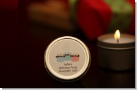 Candle Tins Mini Soy Travel Size Birthday Party Favors