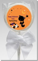 Black Cat - Personalized Halloween Lollipop Favors