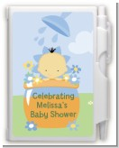 Blooming Baby Boy Asian - Baby Shower Personalized Notebook Favor