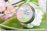 Blooming Baby Girl Asian - Personalized Baby Shower Candy Jar