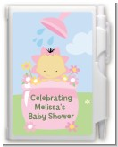 Blooming Baby Girl Asian - Baby Shower Personalized Notebook Favor
