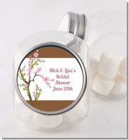 Blossom - Personalized Bridal Shower Candy Jar