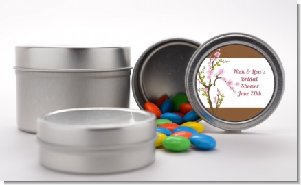 Blossom - Custom Bridal Shower Favor Tins