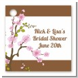 Blossom - Personalized Bridal Shower Card Stock Favor Tags thumbnail