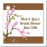 Blossom - Personalized Bridal Shower Card Stock Favor Tags