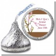Blossom - Hershey Kiss Bridal Shower Sticker Labels thumbnail