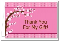 Cherry Blossom - Bridal Shower Thank You Cards