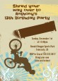 BMX Rider - Birthday Party Invitations thumbnail