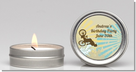 BMX Rider - Birthday Party Candle Favors