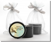 BMX Rider - Birthday Party Black Candle Tin Favors