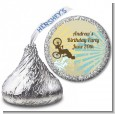 BMX Rider - Hershey Kiss Birthday Party Sticker Labels thumbnail