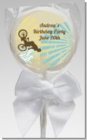 BMX Rider - Personalized Birthday Party Lollipop Favors
