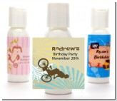 BMX Rider - Personalized Birthday Party Lotion Favors