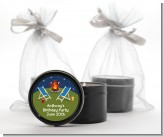 Bonfire - Birthday Party Black Candle Tin Favors