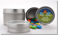 Bonfire - Custom Birthday Party Favor Tins