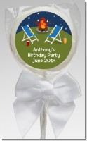 Bonfire - Personalized Birthday Party Lollipop Favors