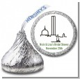 Boston Skyline - Hershey Kiss Bridal Shower Sticker Labels thumbnail