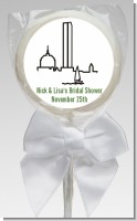 Boston Skyline - Personalized Bridal Shower Lollipop Favors