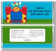 Bounce House - Personalized Birthday Party Candy Bar Wrappers thumbnail