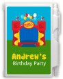 Bounce House - Birthday Party Personalized Notebook Favor thumbnail