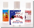 Bowling Boy - Personalized Birthday Party Hand Sanitizers Favors thumbnail