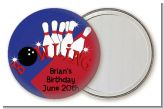 Bowling Boy - Personalized Birthday Party Pocket Mirror Favors
