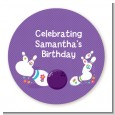 Bowling Party - Personalized Birthday Party Table Confetti thumbnail