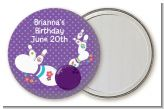 Bowling Party - Personalized Birthday Party Pocket Mirror Favors
