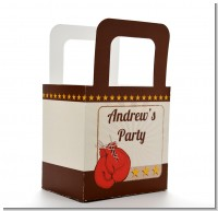 Boxing Gloves - Personalized Birthday Party Favor Boxes