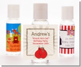 Boxing Gloves - Personalized Birthday Party Hand Sanitizers Favors