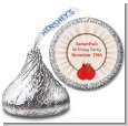 Boxing Gloves - Hershey Kiss Birthday Party Sticker Labels thumbnail