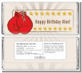 Boxing Gloves - Personalized Birthday Party Candy Bar Wrappers thumbnail
