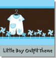 Little Boy Outfit Baby Shower Theme thumbnail