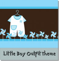 Baby clothes baby shower Theme