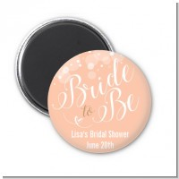 Bride To Be - Personalized Bridal Shower Magnet Favors