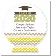 Brilliant Scholar - Personalized Graduation Party Centerpiece Stand thumbnail