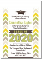 Brilliant Scholar - Graduation Party Petite Invitations
