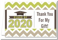 Brilliant Scholar - Graduation Party Thank You Cards