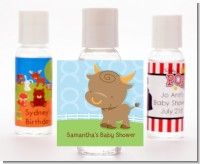 Bull | Taurus Horoscope - Personalized Baby Shower Hand Sanitizers Favors