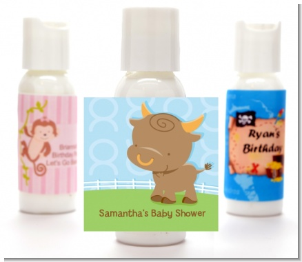 Bull | Taurus Horoscope - Personalized Baby Shower Lotion Favors