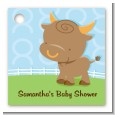 Bull | Taurus Horoscope - Personalized Baby Shower Card Stock Favor Tags thumbnail