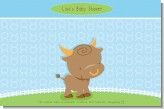 Bull | Taurus Horoscope - Personalized Baby Shower Placemats