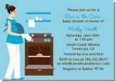 Bun in the Oven Boy - Baby Shower Invitations