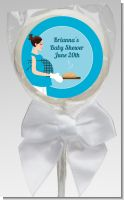 Bun in the Oven Boy - Personalized Baby Shower Lollipop Favors